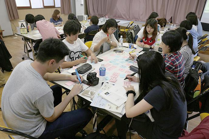 札幌市立大学 ワークショップの様子
